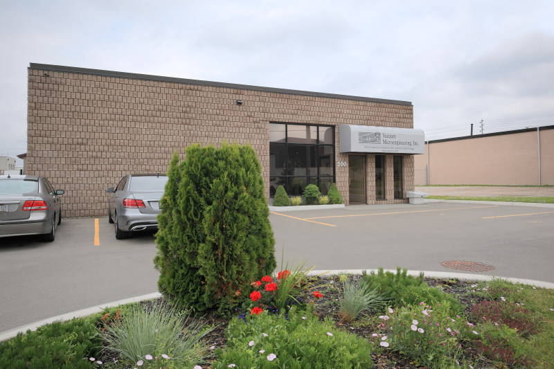OCI Vacuum Microengineering facility / office in London Ontario